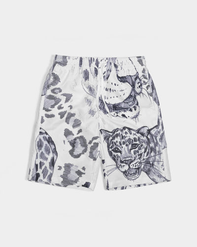 Jungle Cat Boy's Swim Trunk