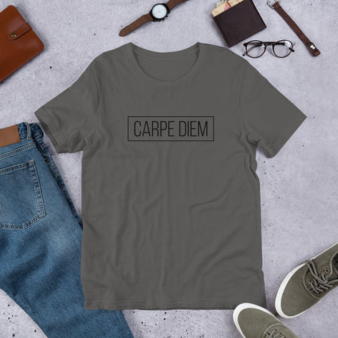 "Short-Sleeve Unisex T-Shirt ""Carpe Diem"""