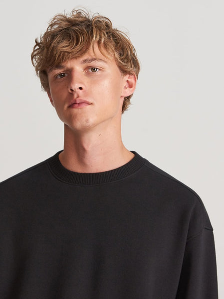 "Organic Cotton Sweatshirt ""Black"""