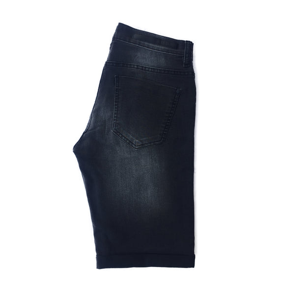Premium Black Faded Short