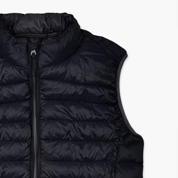 "Puffer Vest Light Weight ""Black"""