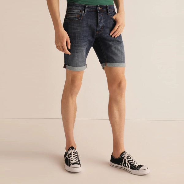 Light Faded Denim Short