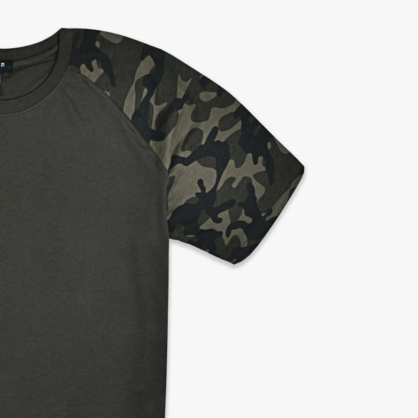 Camouflage Sleeves T-Shirt