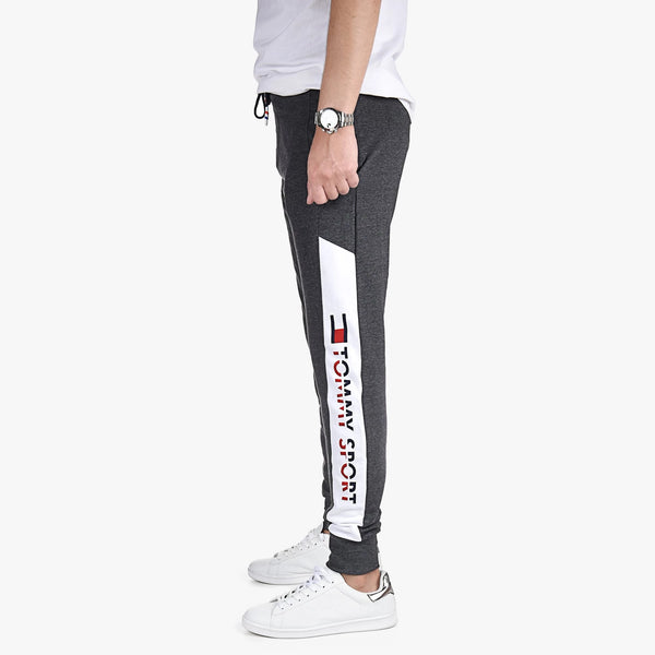 "Tommy Hilfiger Tommy Sports Printed Trouser ""Charcoal"""