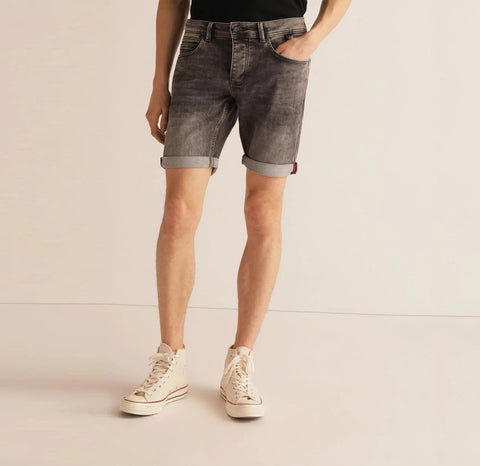 Grey Denim Bermuda Short
