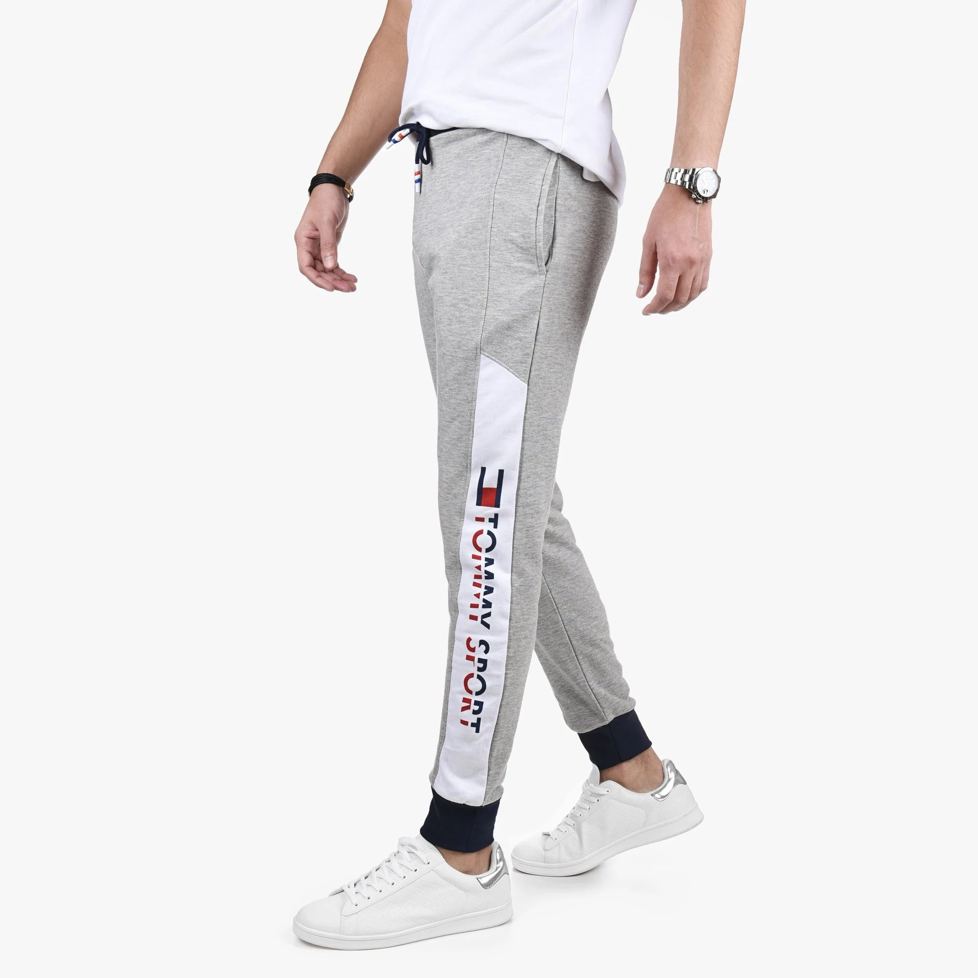 "Tommy Hilfiger Tommy Sports Printed Trouser ""Grey"""