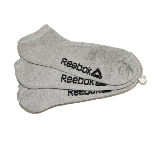 "Reebok Pack of 3 Socks ""Grey"""