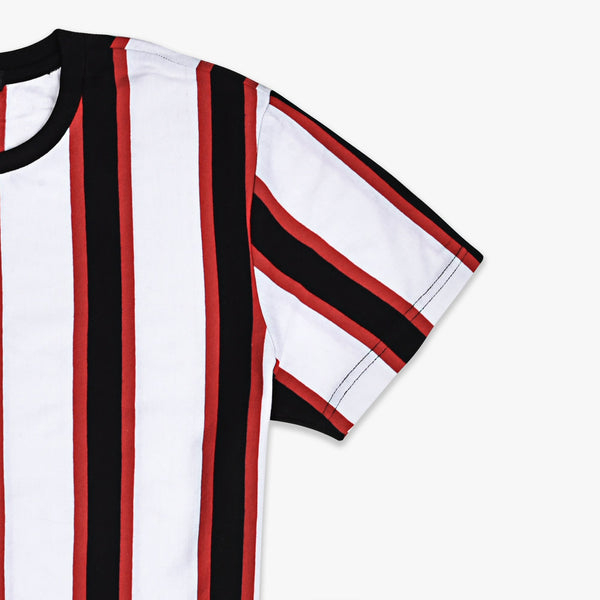 Variegated Multi Strips T-Shirt