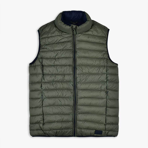 "Puffer Vest Light Weight ""Olive"""