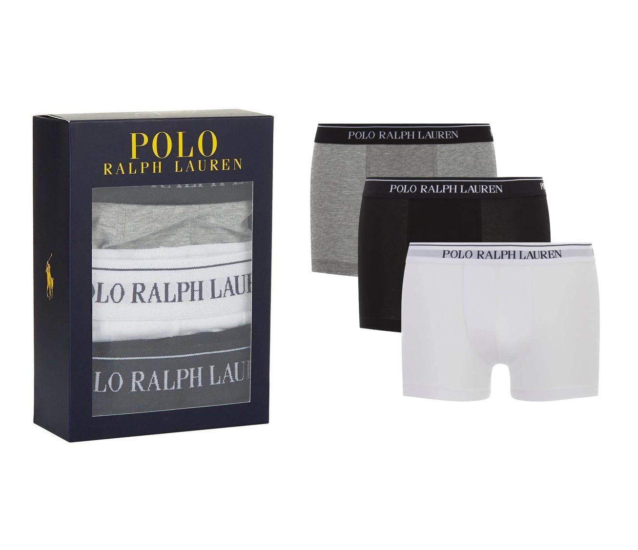 Polo Ralph Lauren Pack of 3 Cotton Boxers