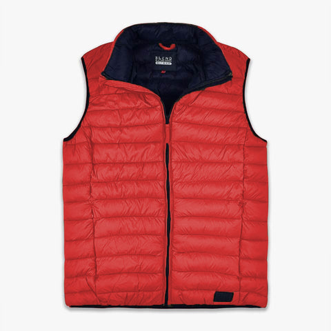 "Puffer Vest Light Weight ""Red"""