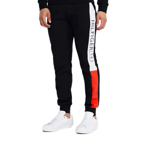 "Tommy Hilfiger Side Flag Stripe Super Soft Trouser ""Black"""