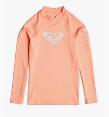 Whole Hearted - Long Sleeve UPF 50 Rash Vest for Girls 8-16 ERGWR03081 SOUFFLE