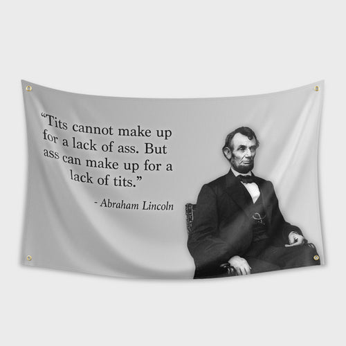 Abe Lincoln Ass Flag