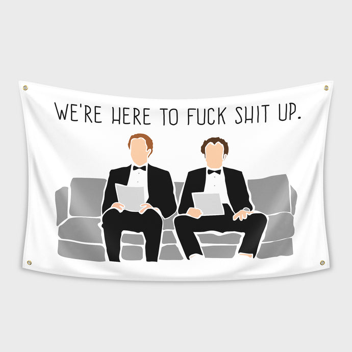 Interview Step Brothers Flag