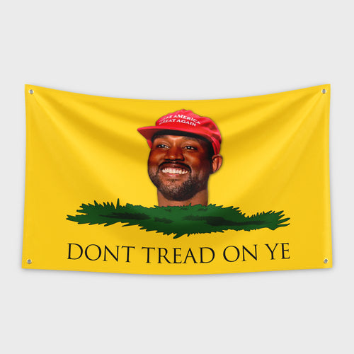Kanye Dont Tread On Me Flag