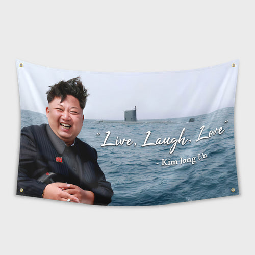 Live Laugh Love Flag