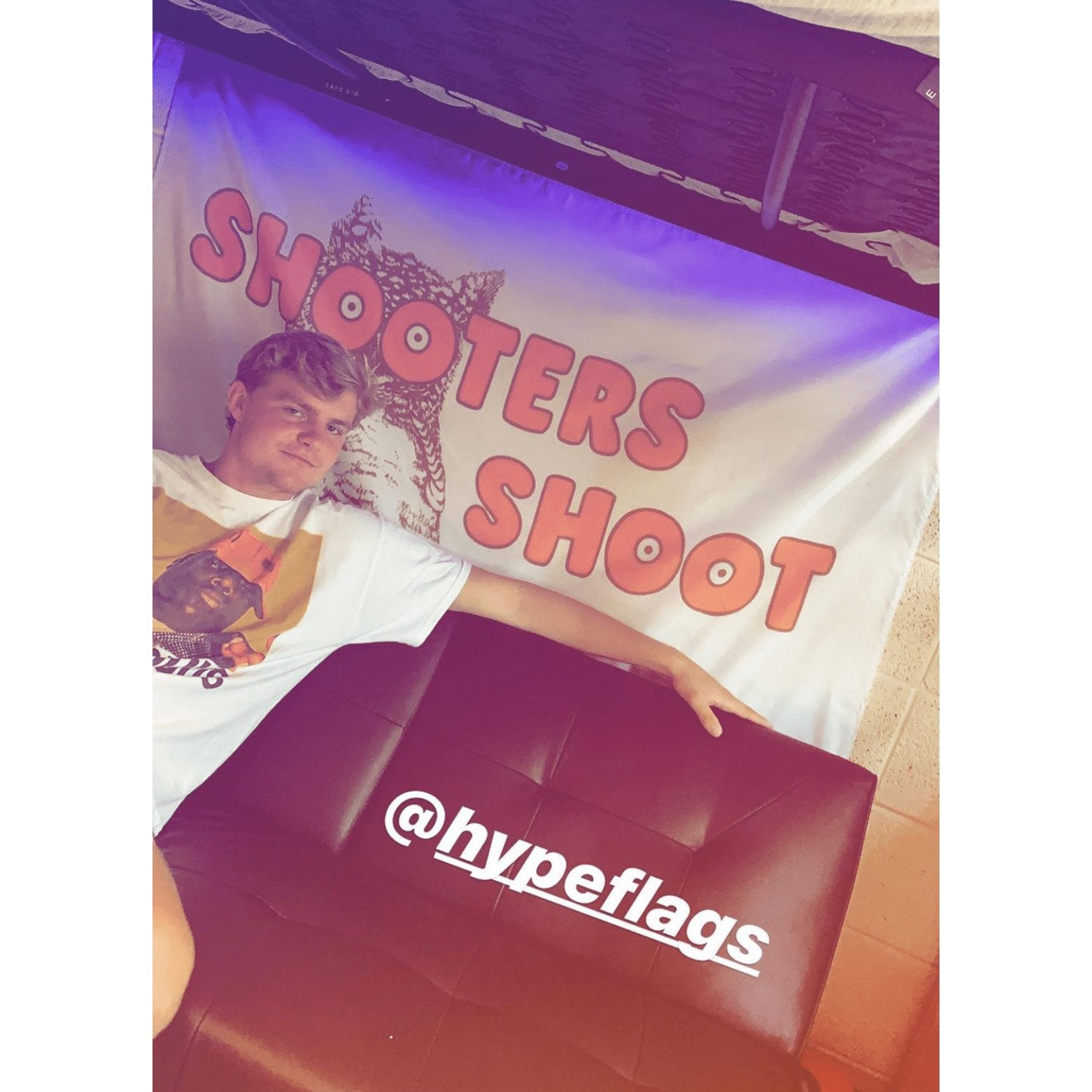 Shooters Hooters Flag