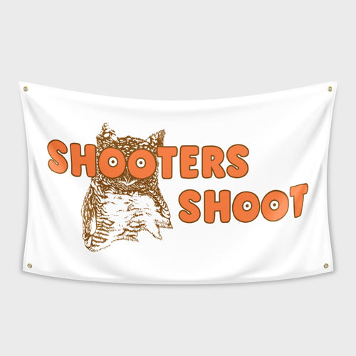 Shooters Shoot Flag