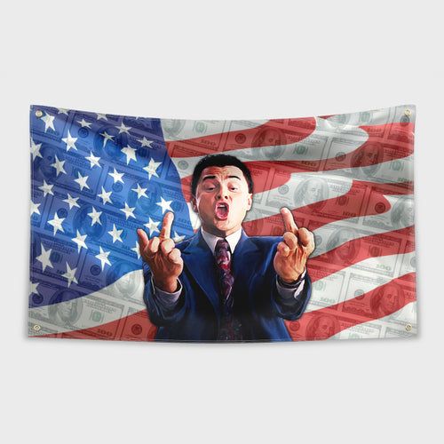 Wolf of Wall Street Flag