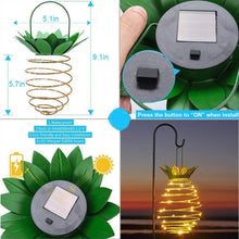 Load image into Gallery viewer, Pineapple Hanging Garden Solar Lights Waterproof