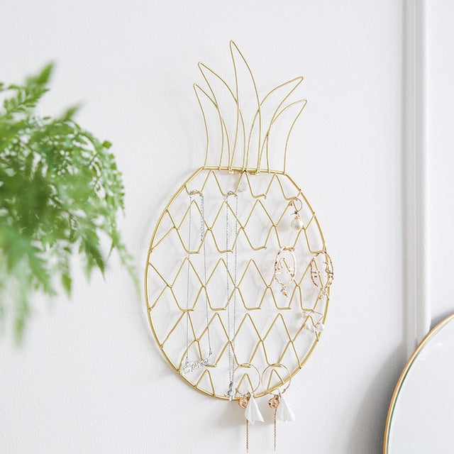 Pineapple Jewelry Organizer Display Rack