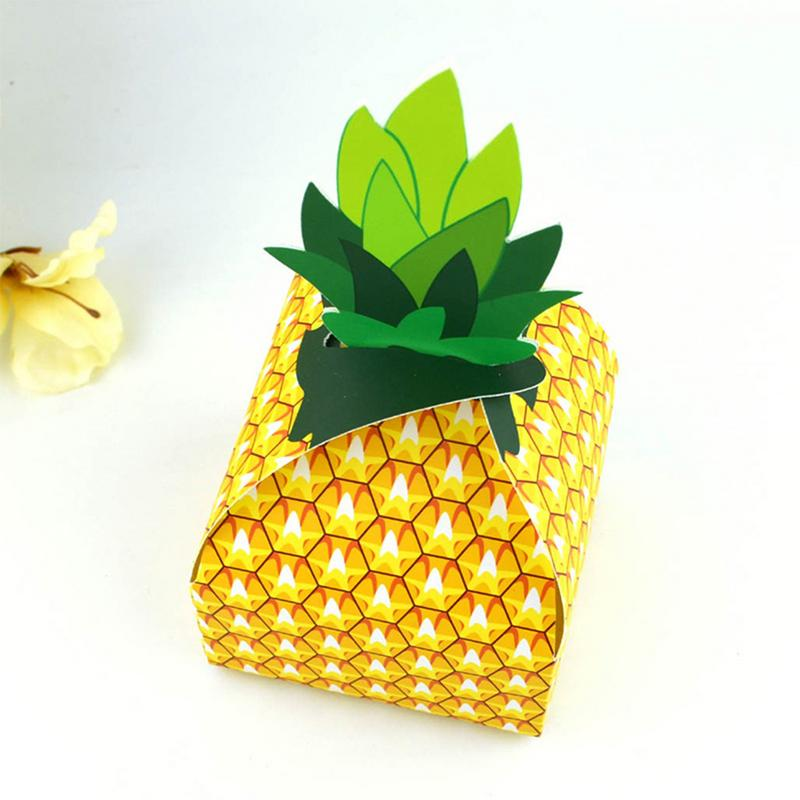 Pineapple Gift Boxes - Set of 10