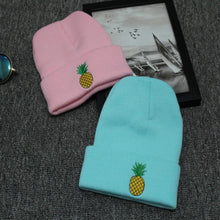 Load image into Gallery viewer, Pineapple Beanie - Embroidered