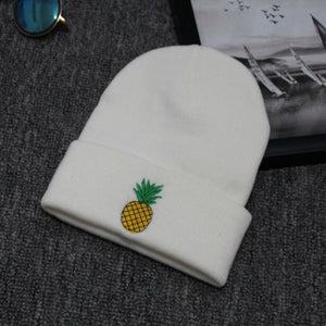 Pineapple Beanie - Embroidered