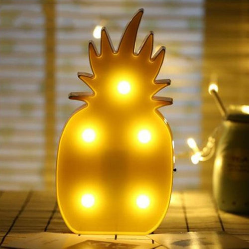 Pineapple LED Desk Lamp