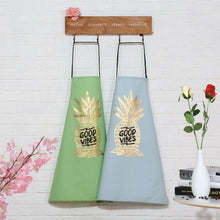 Load image into Gallery viewer, Pineapple Canvas Apron