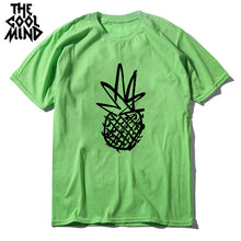 Load image into Gallery viewer, Pineapple Print Design T-shirt