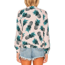 Load image into Gallery viewer, Pineapple Zipper Jacket