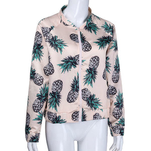 Pineapple Zipper Jacket