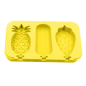 Pineapple and Strawberry Shape Popsicle Mold