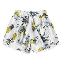 Load image into Gallery viewer, Pineapple Print Loose Shorts