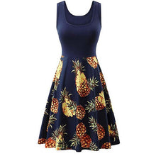 Load image into Gallery viewer, Pineapple Summer Dress