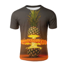 Load image into Gallery viewer, Pineapple Exploding All Over Print T-shirt