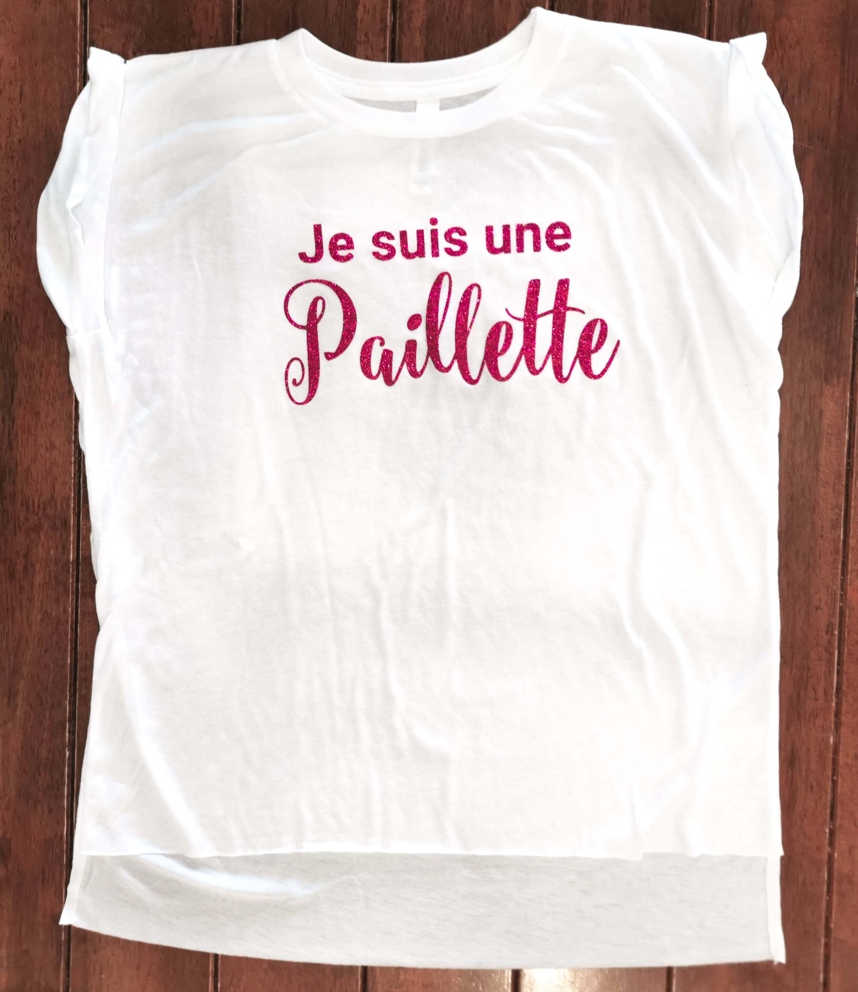 T-shirt avec citation
