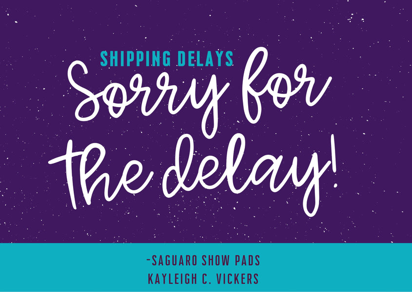 Shipping delays due to COVID-19