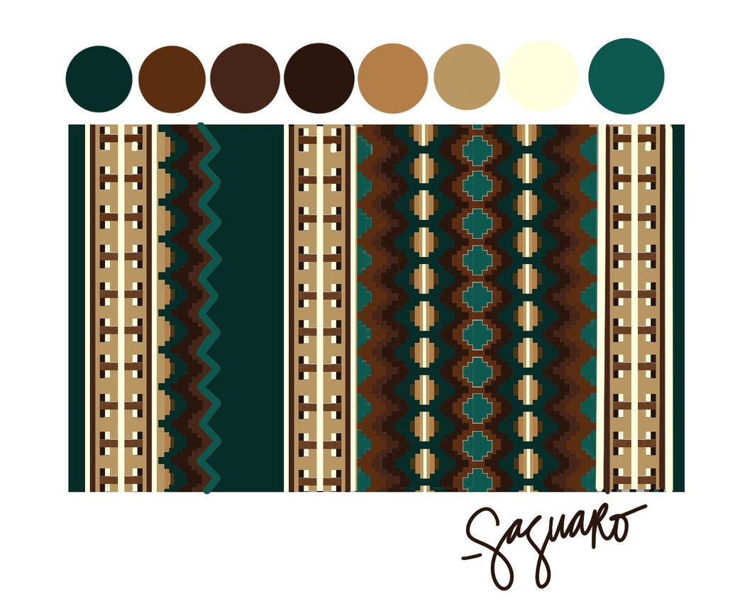 GREEN/BROWN Show Pad - Pre-Order