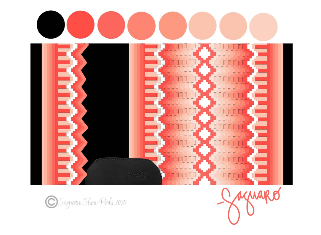 OMBRE COLLECTION (CORAL/BLACK) Show Pad - Pre-Order
