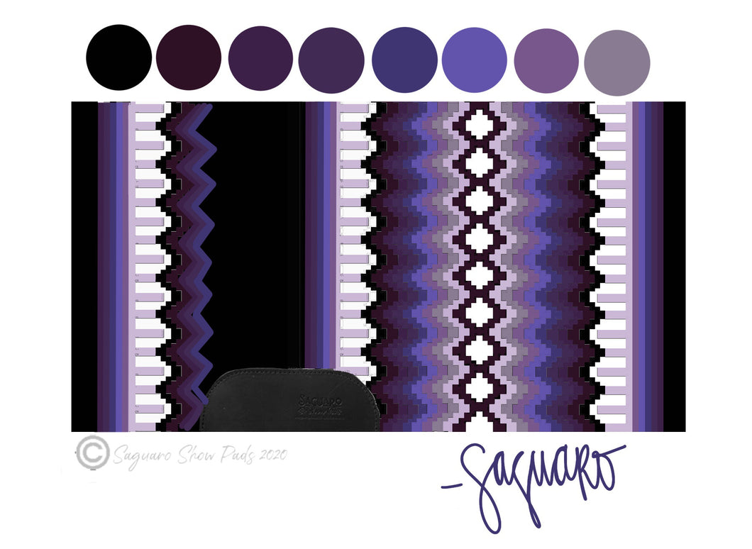 OMBRE COLLECTION (PURPLE/BLACK) Show Pad - Pre-Order