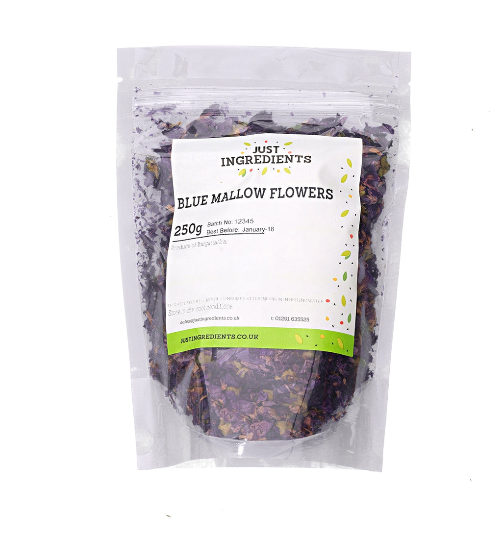JustIngredients Blue Mallow Flowers