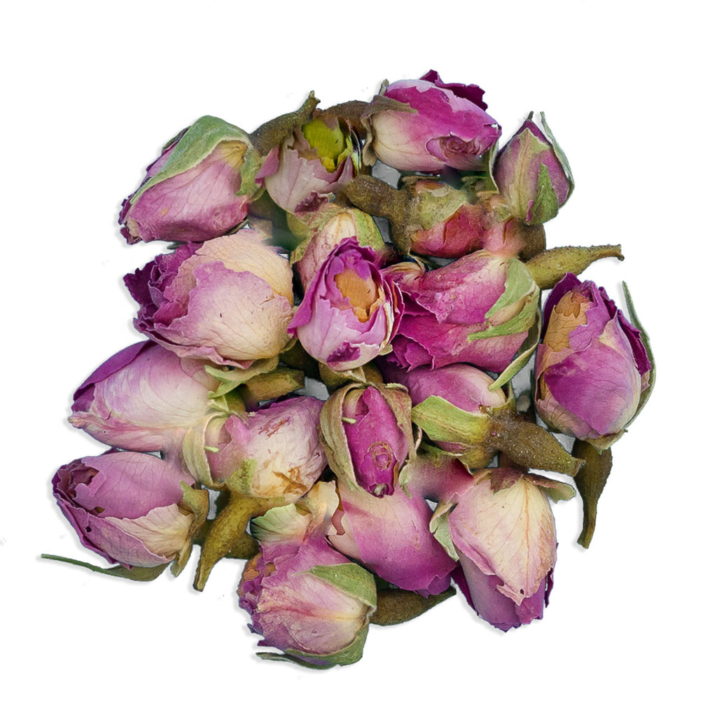 JustIngredients Rose Buds Pink hand selected