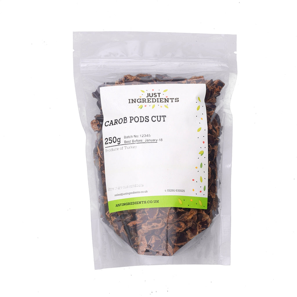 JustIngredients Carob Pods cut