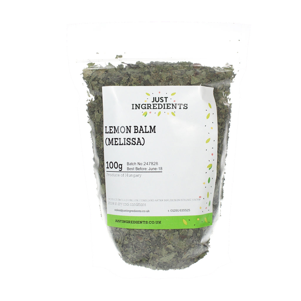 JustIngredients Lemon Balm (Melissa)