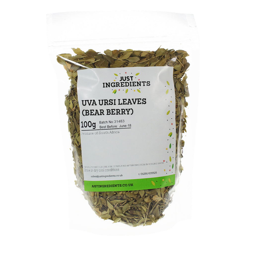 JustIngredients Uva Ursi Leaves, (Bear Berry)