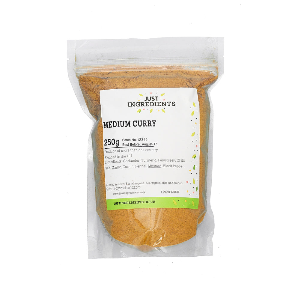 JustIngredients Madras Curry Powder (Medium)