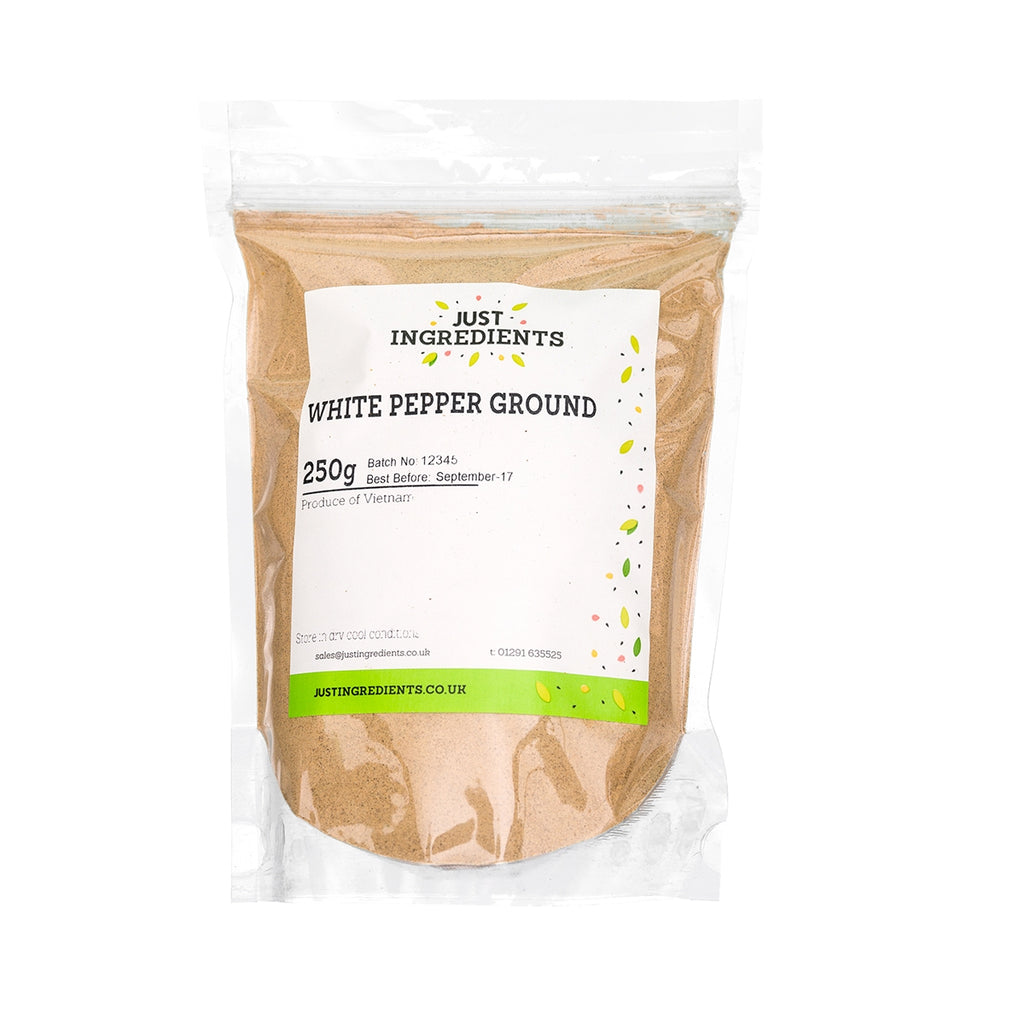 JustIngredients White Pepper - Ground
